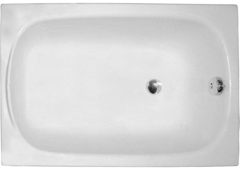 Ванна акриловая прямоугольная 110 x 70 см MINI