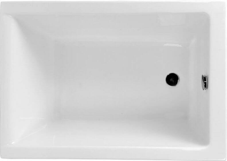 Ванна акриловая прямоугольная 100 x 70 см CAPRI