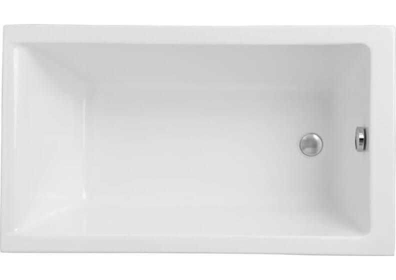 Ванна акриловая прямоугольная 120 x 70 см CAPRI