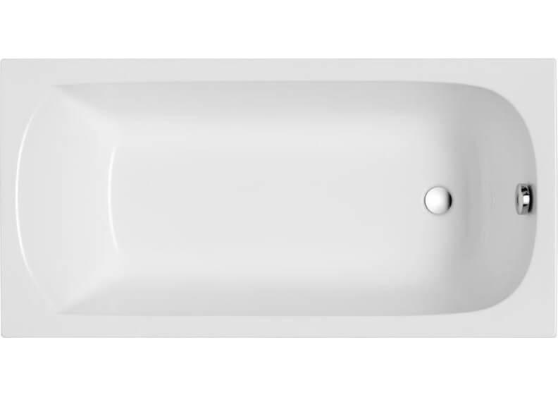 Ванна акриловая прямоугольная 160 x 70 см CLASSIC