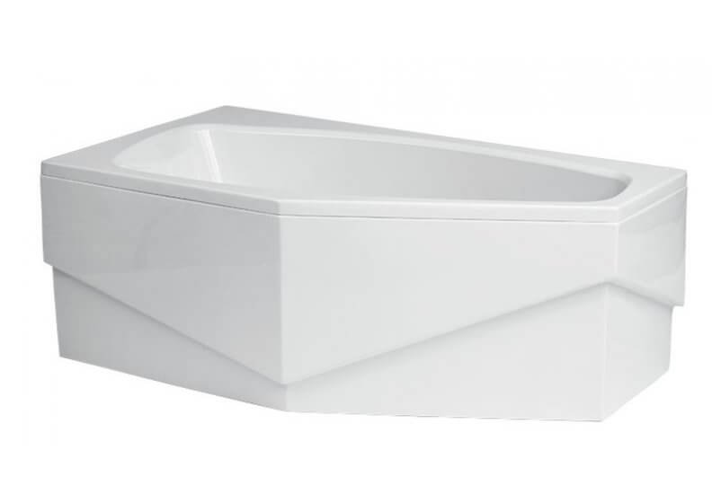 Панель для угловой ванны асимметричной 140 x 80 см левая MARIKA