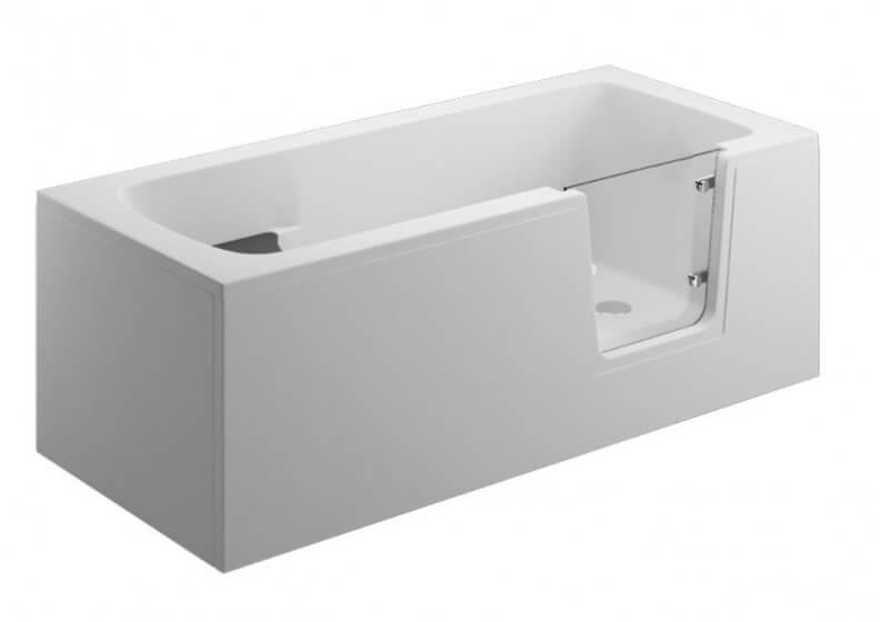 Панель для ванны AVO - передняя панель 160 см белая
