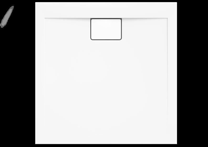 Поддон акриловый квадратный низкий VEGAR БЕЛЫЙ