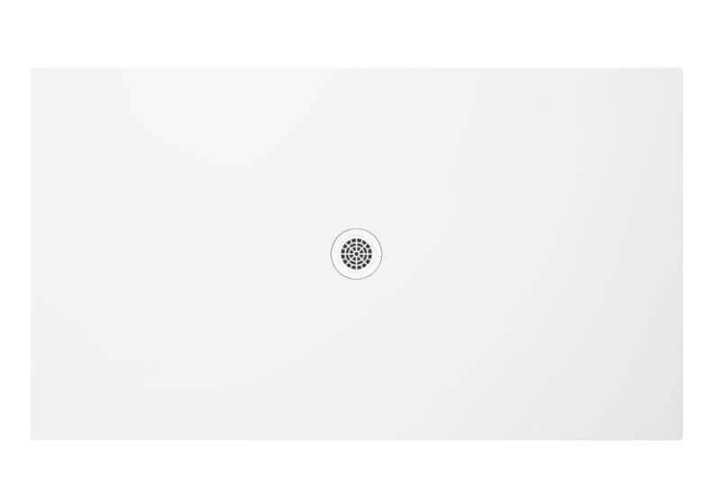 Поддон прямоугольный низкий FRESCO блеск