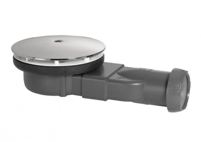 Сифон для поддона SLIM Wirquin ∅ 90 силиконовой мембраной