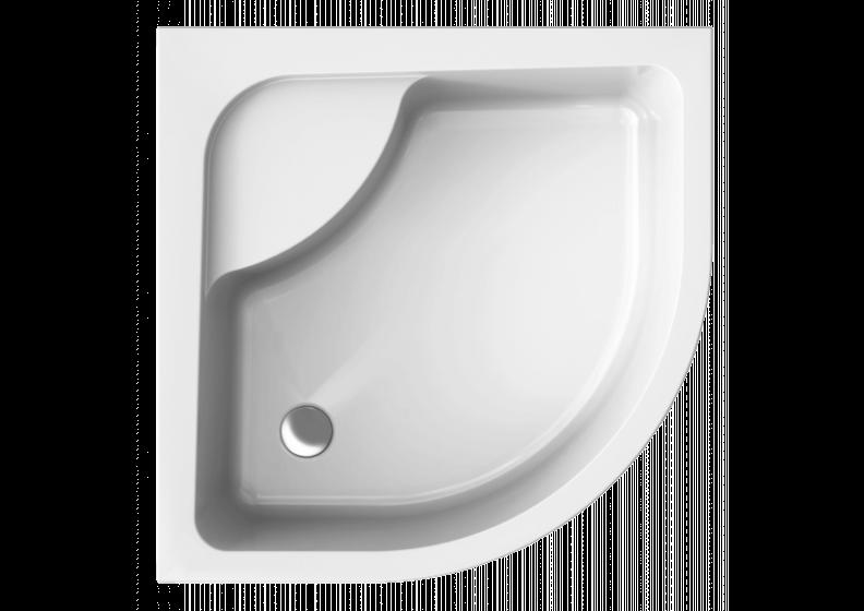 Поддон акриловый полукруглый, глубокой  PAKO