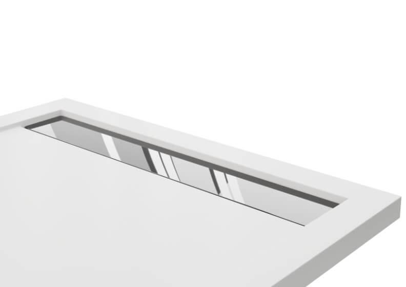 Решетка для душевых поддонов WEST NEW нержавеющая сталь  хром