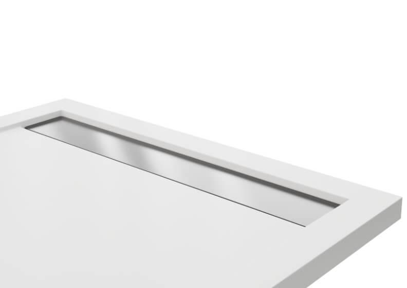 Решетка для душевых поддонов WEST NEW нержавеющая сталь матовый