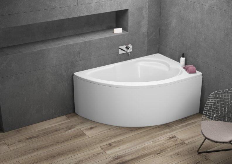 Ванна акриловая асимметричная STANDARD
