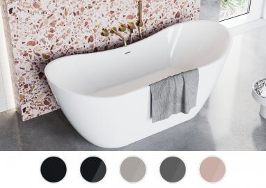 Отдельностоящая ванна ABI 180 x 80 см