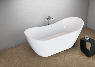 Отдельностоящая ванна ABI БЕЛАЯ 180 x 80 см