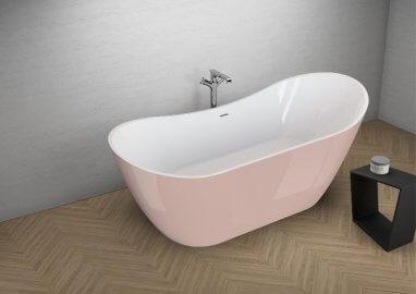 Отдельностоящая ванна ABI СЛАДКИЙ РОЗОВЫЙ 180 x 80 см