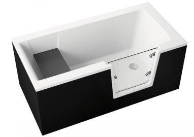 Панель акриловая для ванны VOVO - передняя панель 180 см белая
