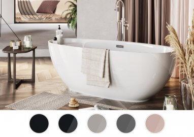 Отдельностоящая ванна KIVI 165 x 75 см
