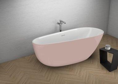 Отдельностоящая ванна SHILA СЛАДКИЙ РОЗОВЫЙ 170 x 85 см