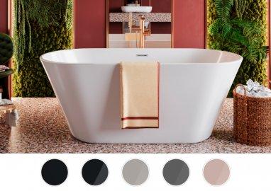 Отдельностоящая ванна UZO 160 x 80 см