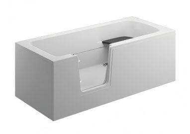 Панель акриловая для ванны VOVO - передняя панель 170 см белая