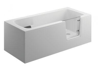 Панель акриловая для ванны AVO - передняя панель 180 см белая