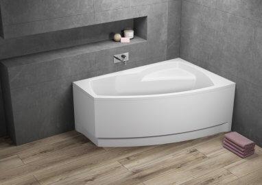 Ванна акриловая асимметричная FRIDA 1