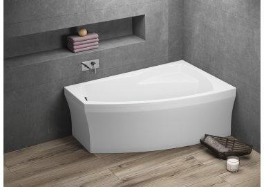Ванна акриловая асимметричная FRIDA 2