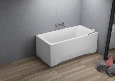 Ванна акриловая прямоугольная CLASSIC