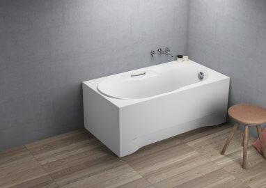 Ванна акриловая прямоугольная LUX