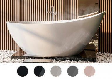 Отдельностоящая ванна ZOE 180 x 80 см