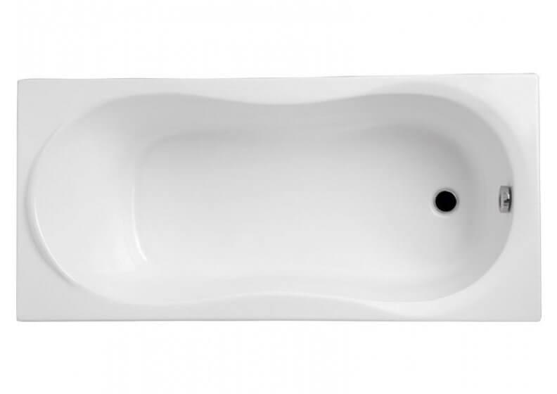 Ванна акриловая прямоугольная 120 x 75 см GRACJA